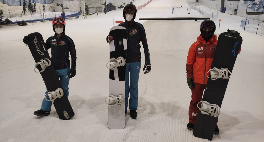 RFEDI Madrid SnowZone Snowboard cross
