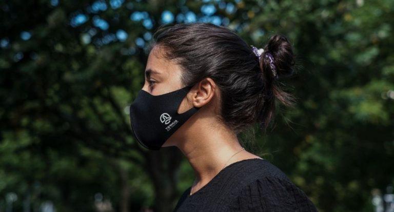 Airgill Mask de Ternua, la mascarilla certificada con un tratamiento que reduce la COVID
