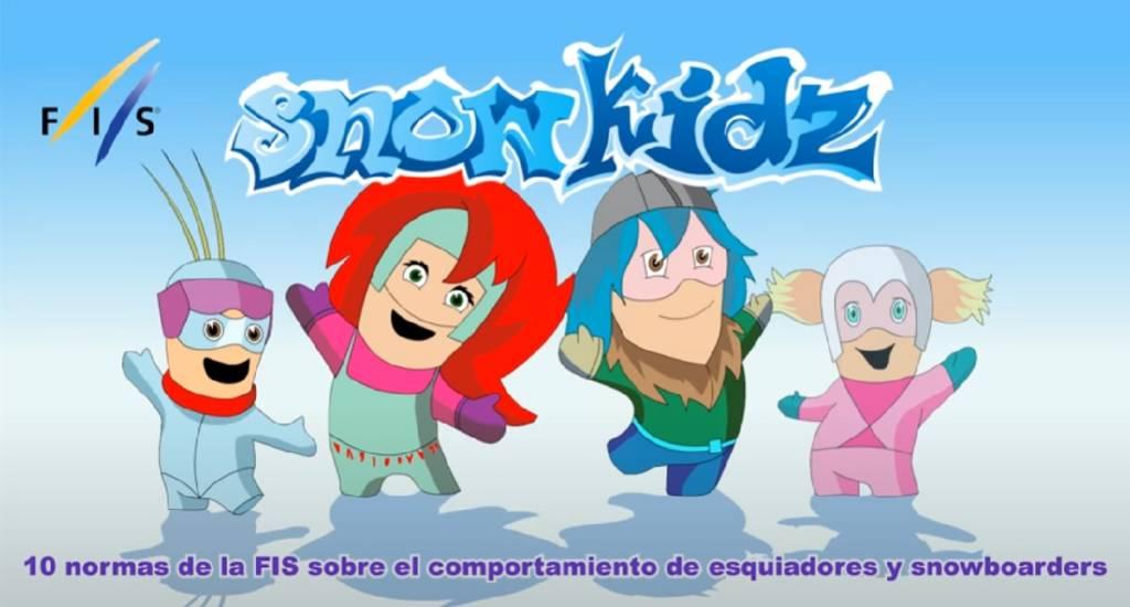 SnowKidz dibujos animados