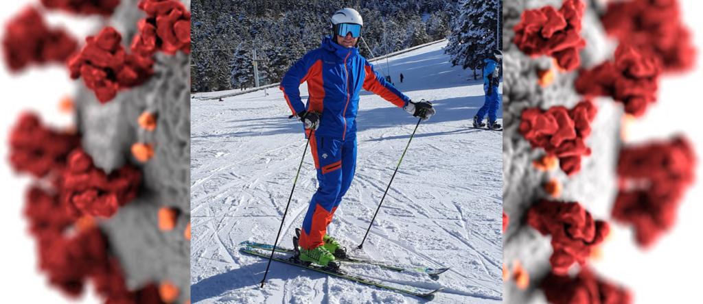 esquiar con la covid-19