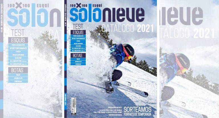 ¡Llegamos! El catálogo Solo Nieve 2021 ya está a la venta
