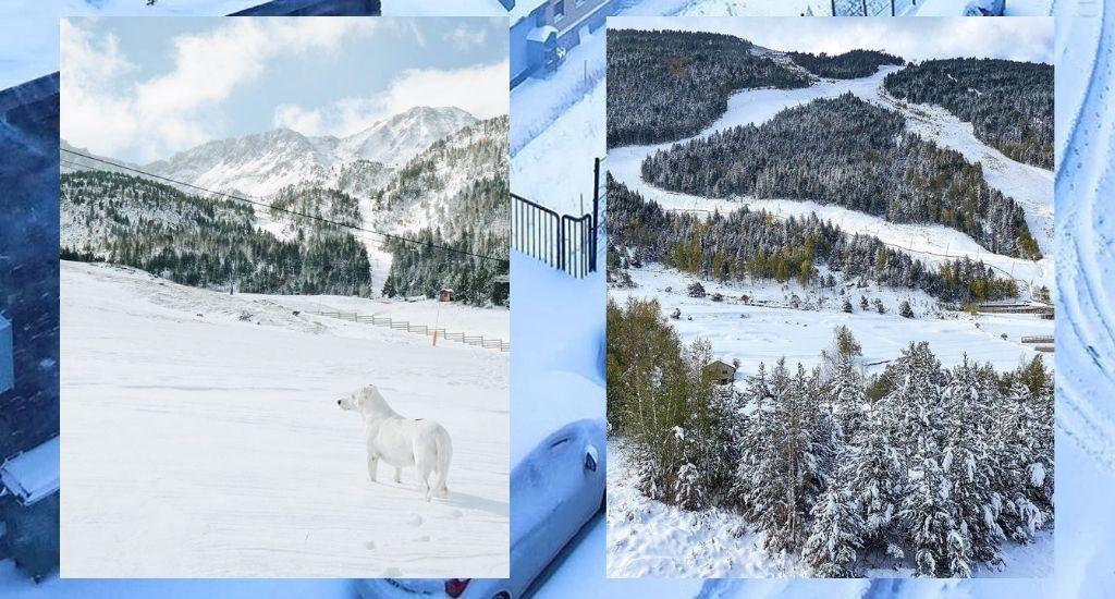 nevadas puente 12 octubre 2020