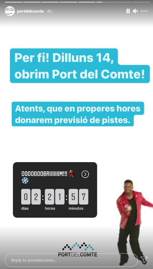apertura port del comte
