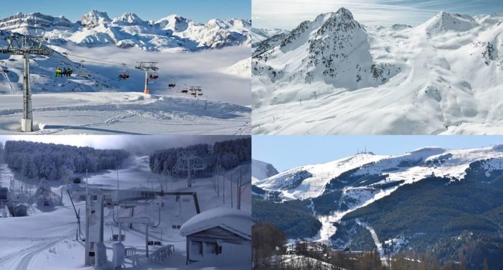apertura estaciones esquí de Aragón