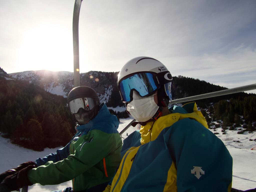 El blog de Urzaiz, mascarillas esquí,