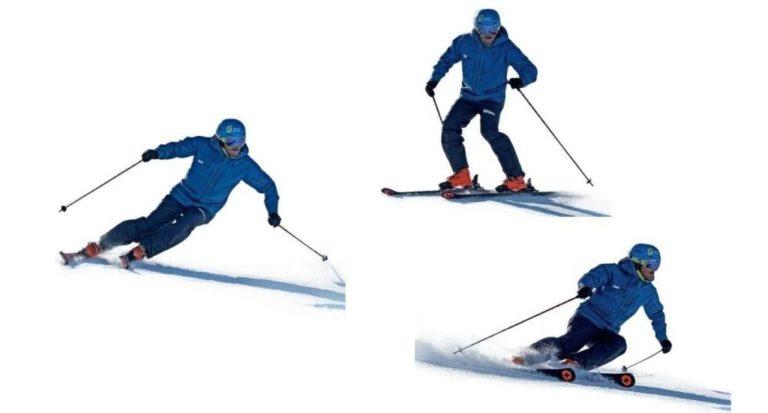 Técnica esquí: conduciendo con los brazos