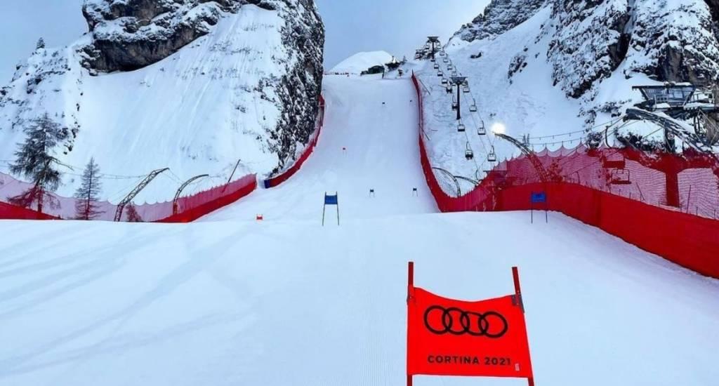cancelado Super-G Mundiales de Cortina 2021