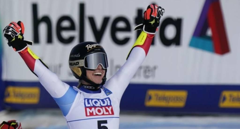 clasificación gigante femenino Cortina 2021
