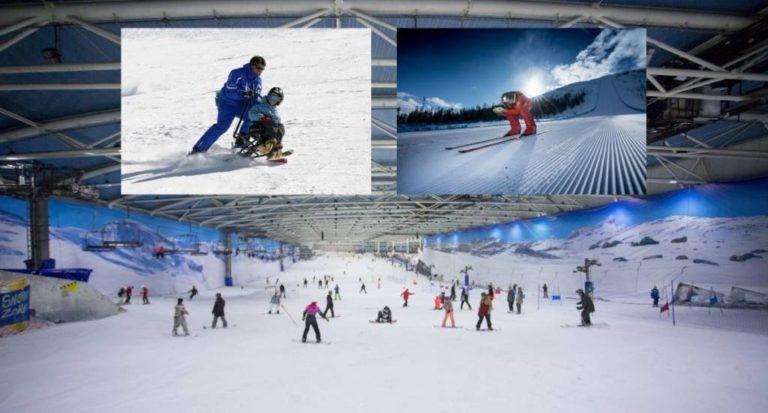 Madrid Snowzone, la Fundación También y Jan Farrell juntos para celebrar una jornada solidaria de esquí