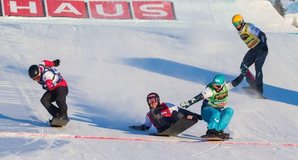 Lucas Eguibar Campeón del Mundo Snowboardcross 2021