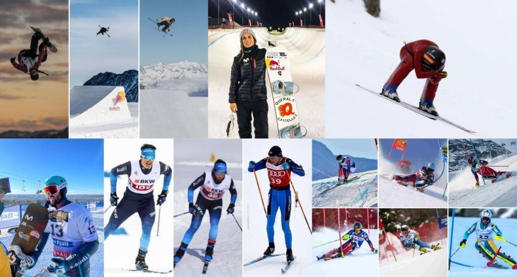 Participaciones deportistas RFEDI Mundiales FIS 2021