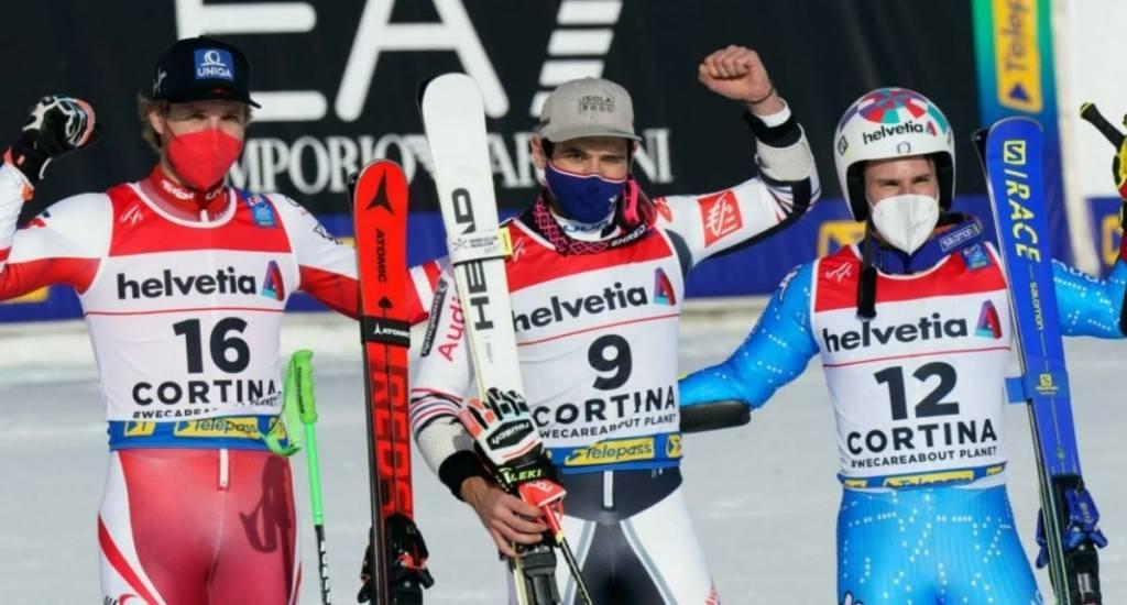 clasificación gigante masculino Cortina 2021