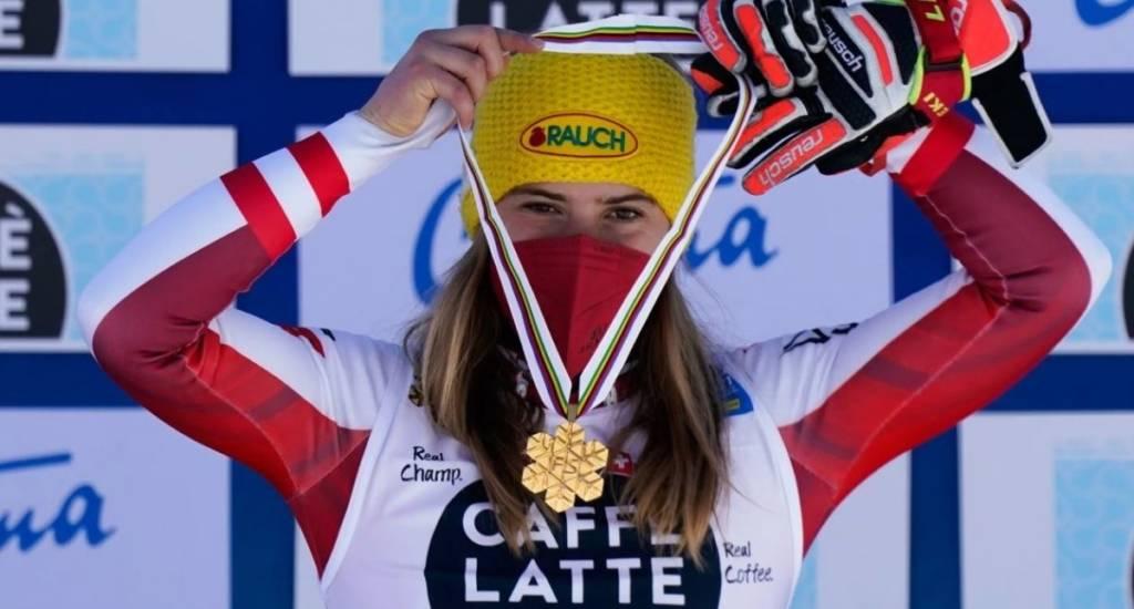 clasificación slalom femenino de Cortina 2021