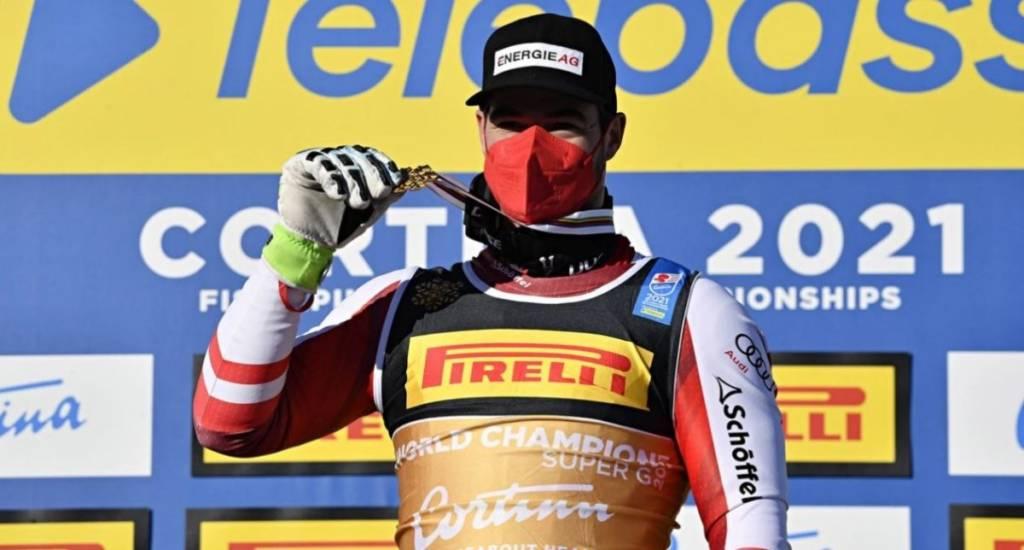 Clasificación Super-G Mundiales FIS Cortina 2021