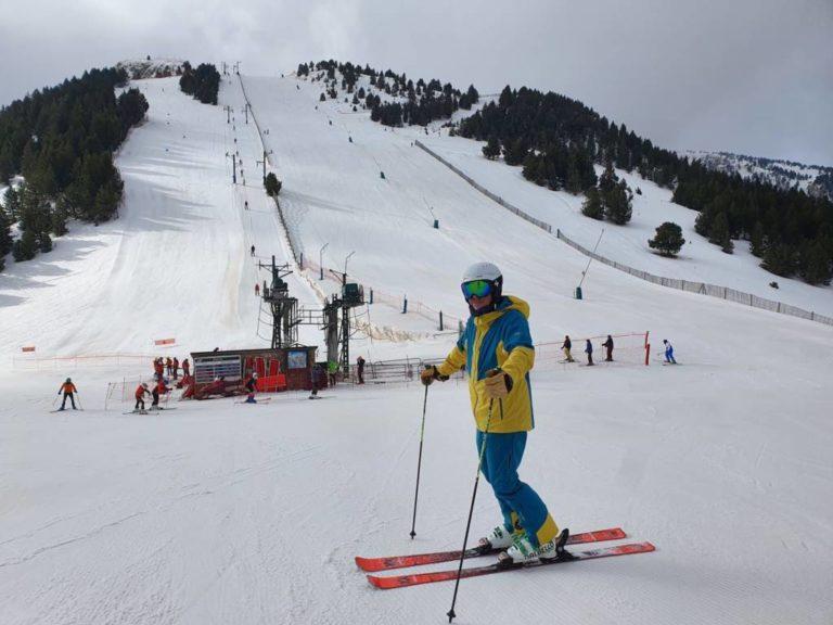 «Estos esquís no me gustarán»