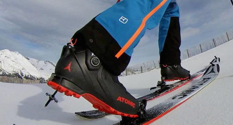Atomic Backland Carbon, la bota de esquí de montaña