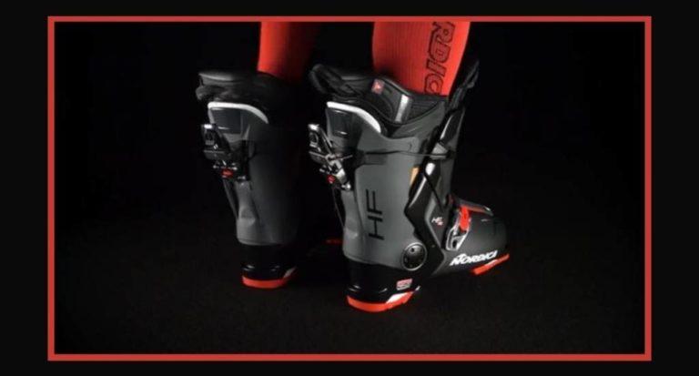 Prueba de las botas Nordica HF 110 GW: Manos libres