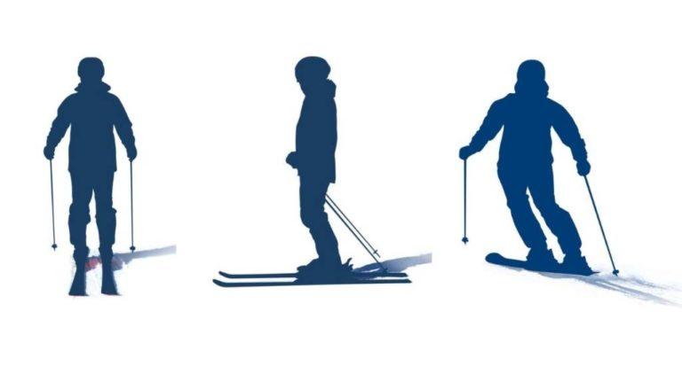 Técnica de esquí: Reconectando