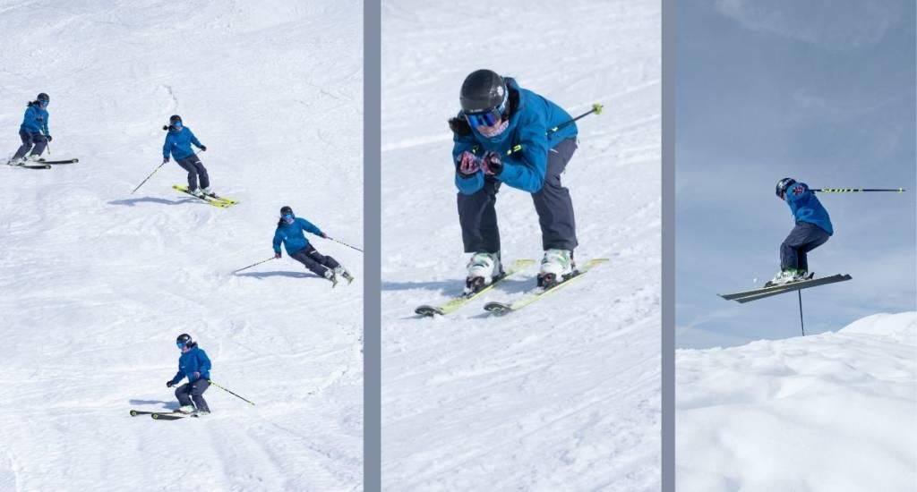 Técnica de esquí mejorar tus recursos