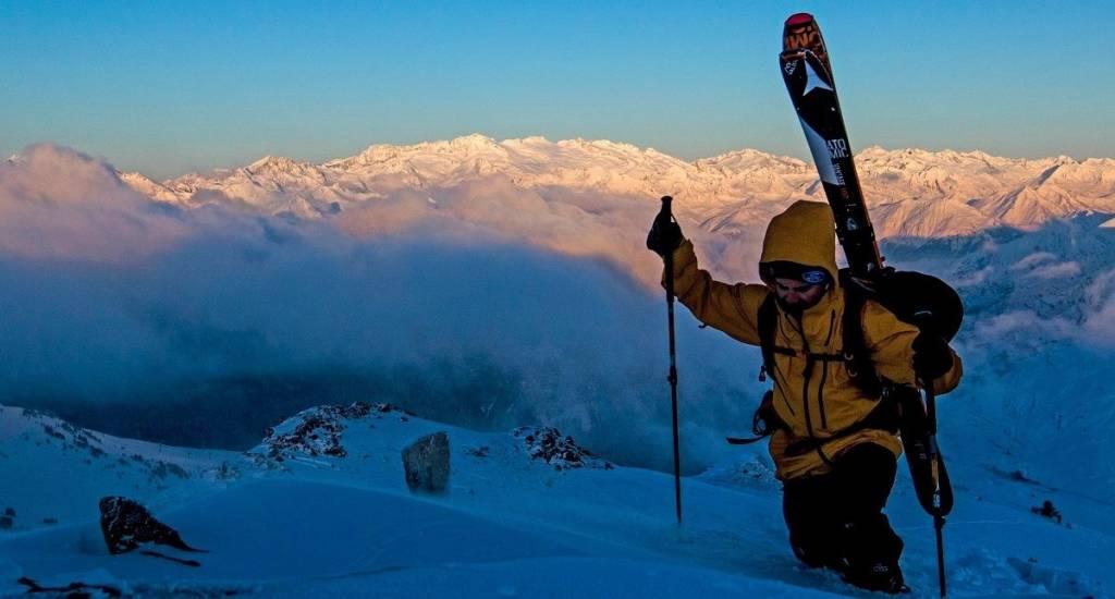 Esquiar cuando cierran los remontes