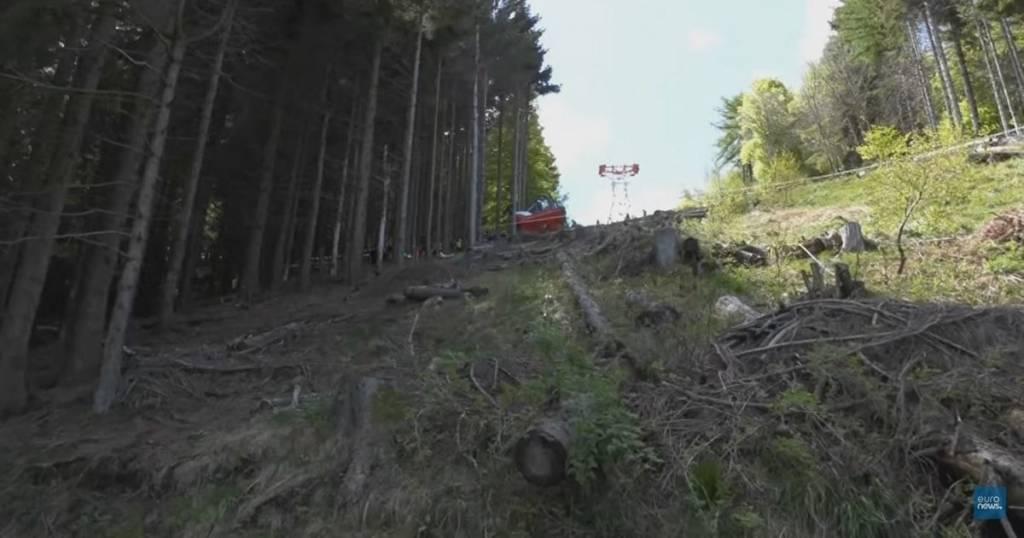 accidente de teleférico Italia