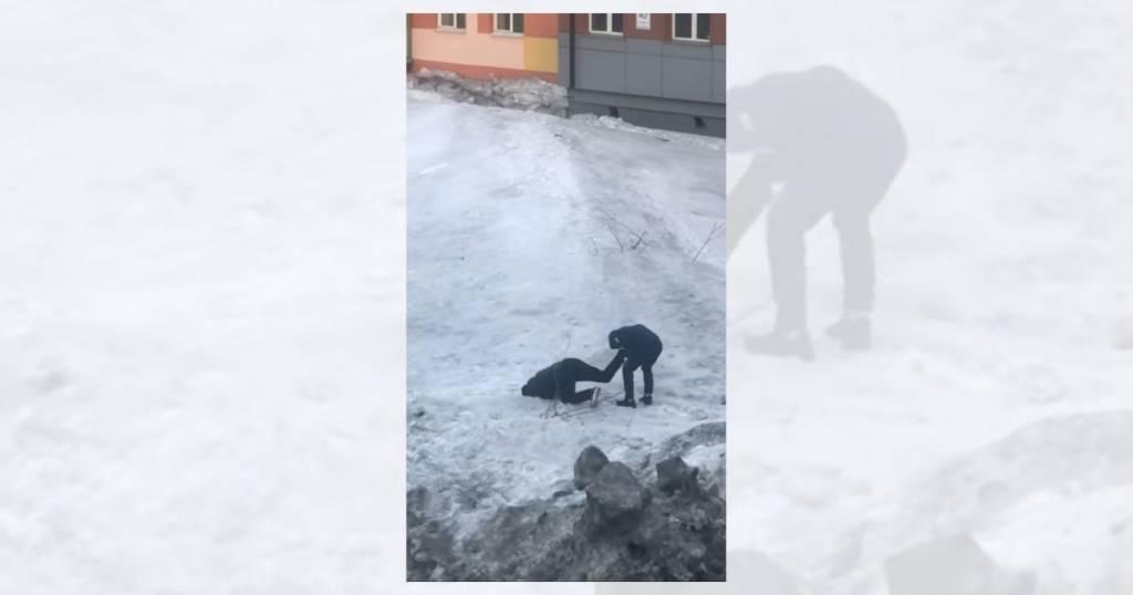 vídeo nieve en primavera traicionera