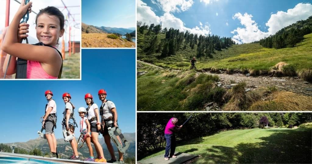 actividades verano Vallnord-Pal Arinsal 2021