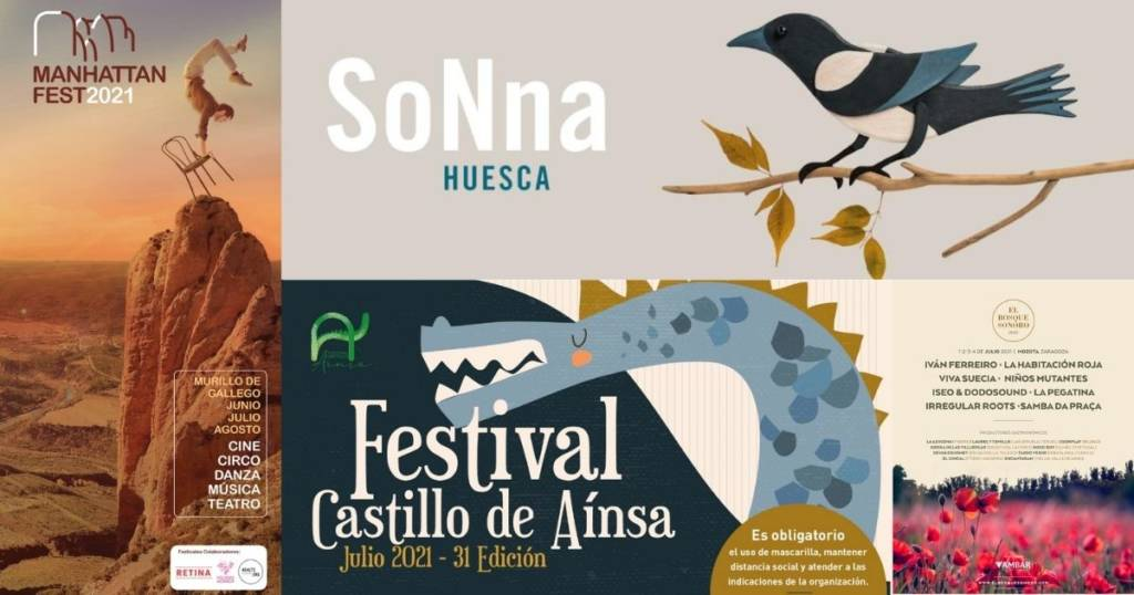 festivales Aragón verano 2021