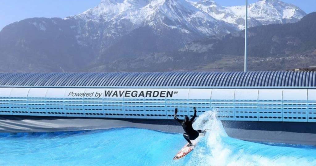 Surf en los Alpes