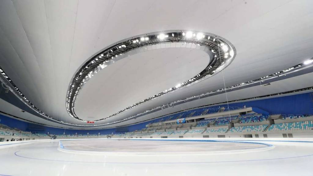 Ovalo nacional patinaje de velocidad pekin