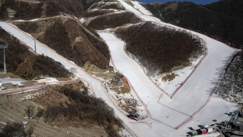 centro nacional de esqui alpino Yanqing