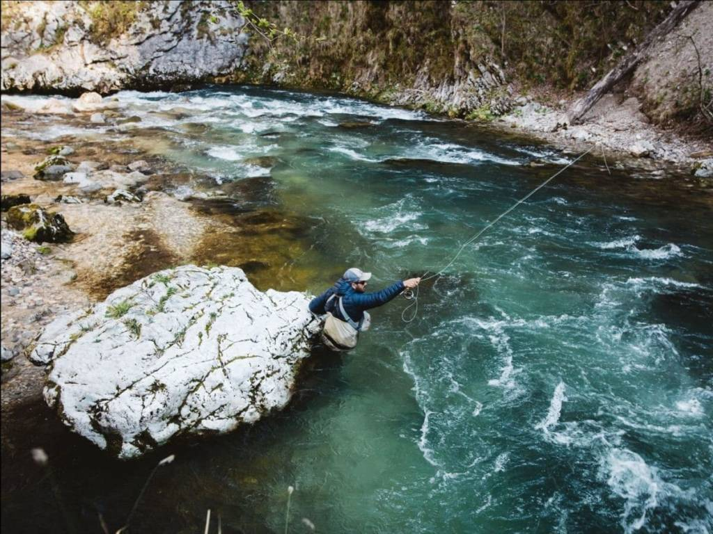 Pesca rio chartreuse