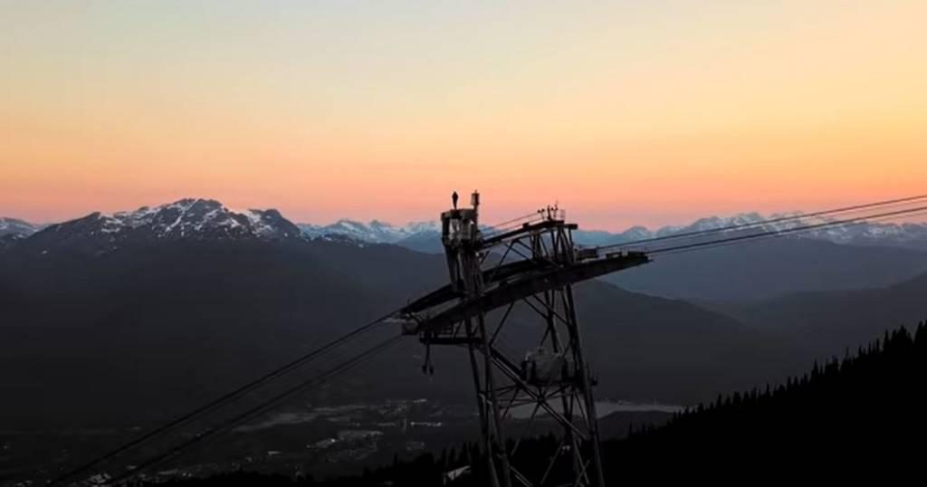 Escala el telecabina Peak 2 Peak de Whistler