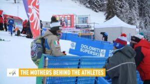 Madres tras los esquiadores: ¿Cómo lo ven ellas?